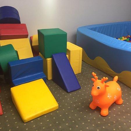 Детская комната при ресторане