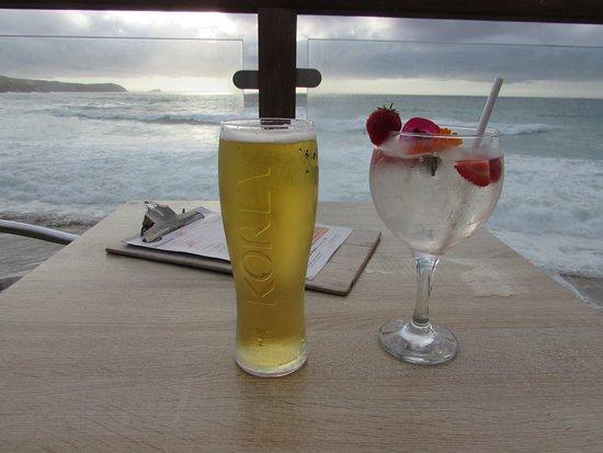 Fistral Beach Bar: Love the Gin Cocktails!