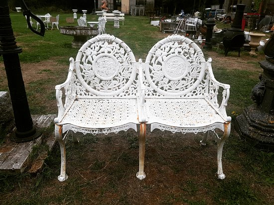 Surprising Two Seater Cast Iron Garden Bench Picture Of Kilkenny Beatyapartments Chair Design Images Beatyapartmentscom