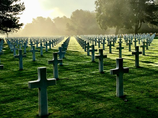 Image result for american cemetery in normandy