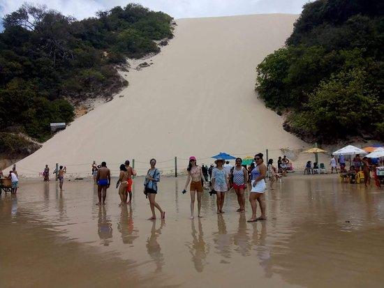 Morro do Careca, Praia de Ponta Negra