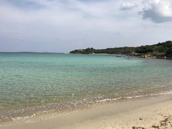 Spiaggia di Ira: Karibik-Feeling (Foto am Strand stehend)