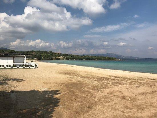 Spiaggia di Ira: leerer Strand im Oktober