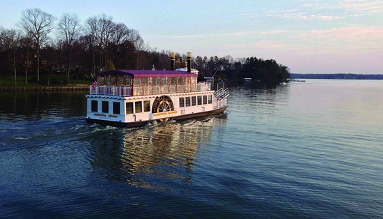 Mooresville Convention and Visitors Bureau: A Lake Norman tour aboard the Catawba Queen is a must-do experience