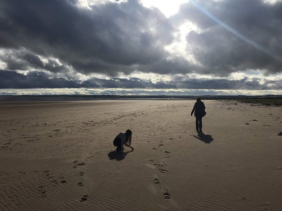 Tentsmuir Forest: Huge beach - loads of room