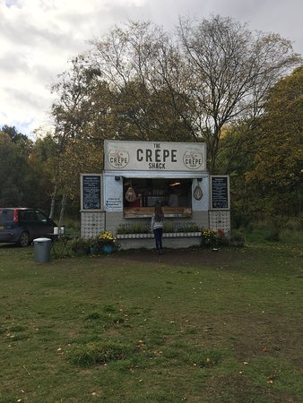 Tentsmuir Forest: Gorgeous Sweet & savoury crepes