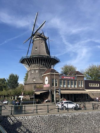 Brouwerij 't IJ: The windmill at the brewery