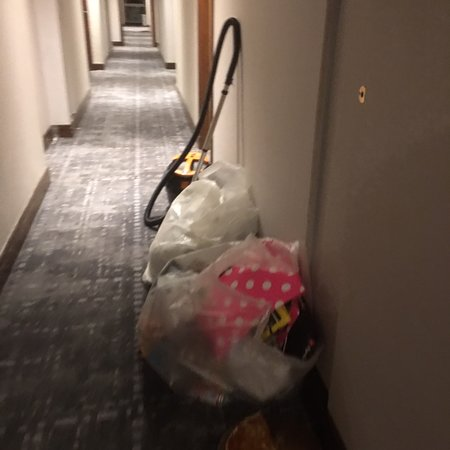 Great Staff, Tired Building, Housekeeping Lacking