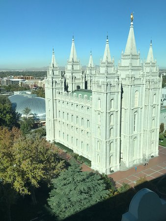 View of the Temple from the 10th floor