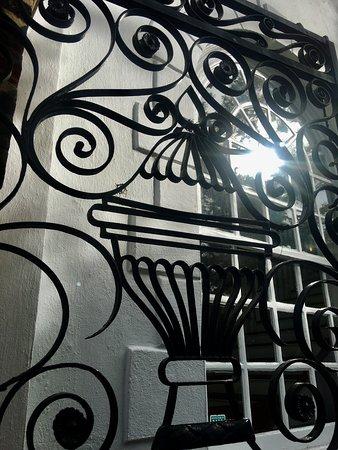 Charleston Footprints Walking Tours: 1840's gate St. Michael's