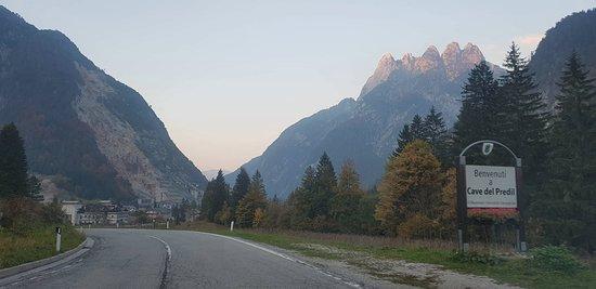 Road to Cave del Predil