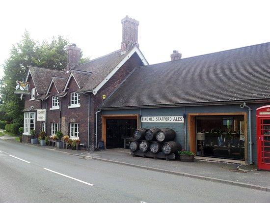 Eccleshall, UK: Fitzherbert Arms