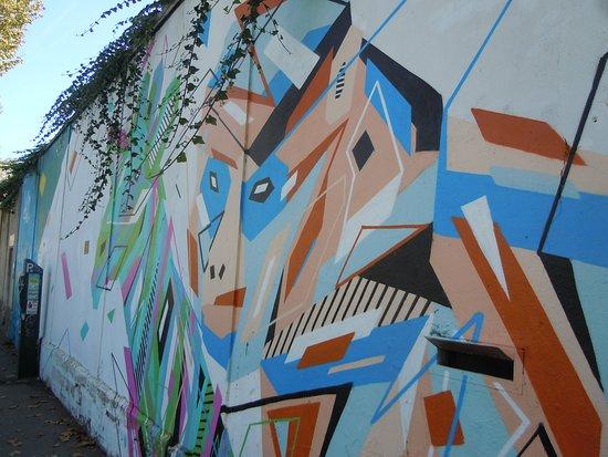 Fresque Graffaune - Eye See You