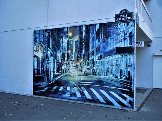 Fresque Scene de Ville