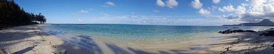Grande Riviere Sud Est: plage de l'île aux cerfs