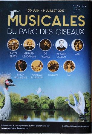 Villars-les-Dombes, ฝรั่งเศส: musicales