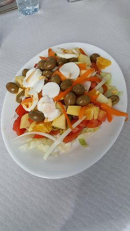Gorafe, Испания: salade