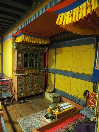 Jakar, Bhutan: die andere Seite des Wohnraumes