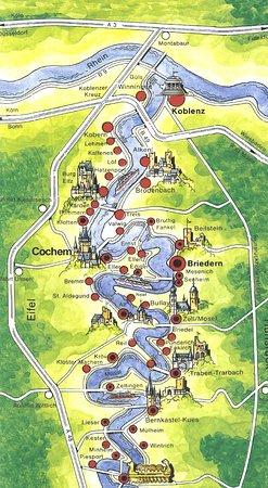 Briedern, Germany: Fahrtdiagramm