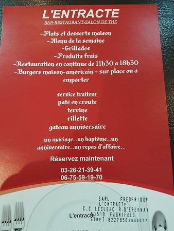 Fagnieres, France : L'ENCAS