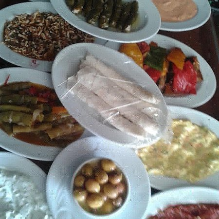 Father and Son Place & Iskele Sofrasi: Dıffretly tasted