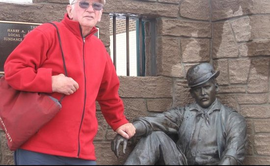Me and Harry Alonzo Longabaugh aka Sundance Kid