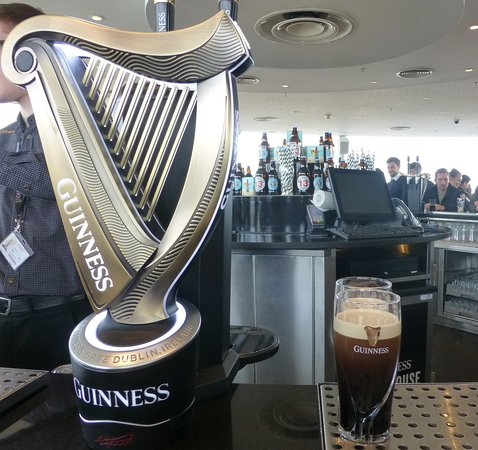 Guinness Storehouse: The reward at the top!