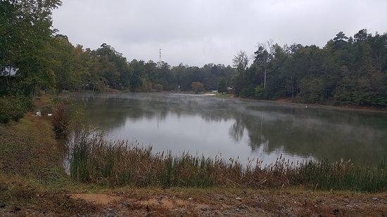 Advance, Carolina del Nord: view of lake near cabin
