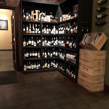Lexington, OH: A bit of wine.