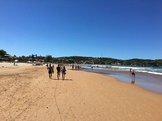 Geriba Beach: Geribá en Agosto