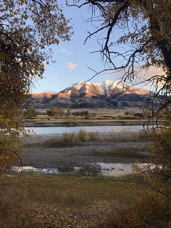 Emigrant, MT: View from back porch