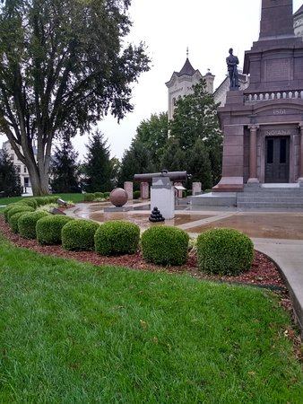 Civil War Memorial by Courthouse