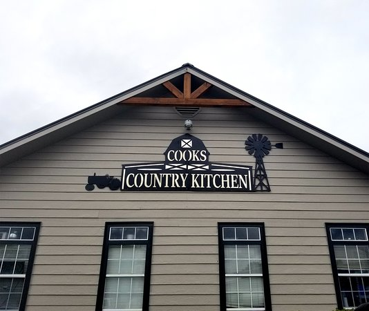 Side Of The Building Picture Of Cooks Country Kitchen