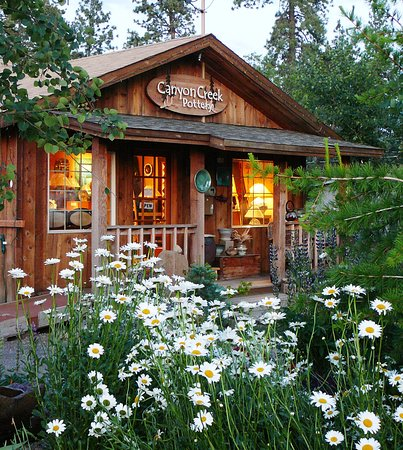 Canyon Creek Pottery in Sisters, Oregon.