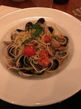Cammeray, Australia: Spaghetti vongole