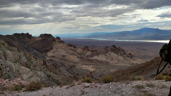 Dolan Springs, Аризона: Just one of the amazing views you will see during your ride.