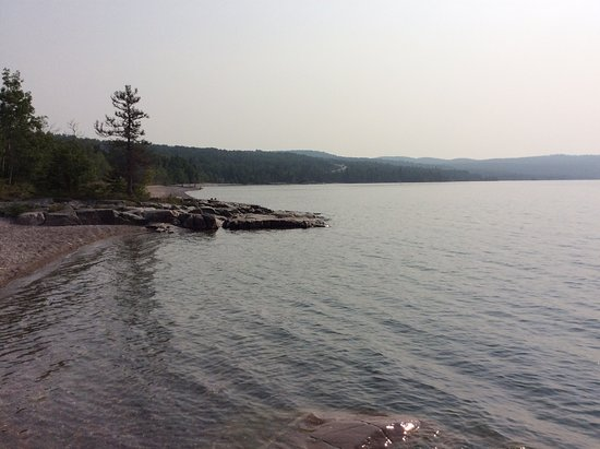 Rossport Campground on Lake Superior