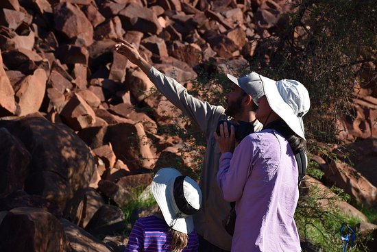 Dampier, Australia: Here you will see ancient indigenous rock art