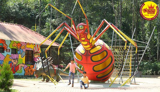 Vellamunda, الهند: Big Ant Statue at Kids Zone, E3 Theme Parks