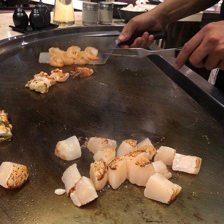 Food - Nami Teppanyaki Steakhouse - at the JW Marriott Hotel Bangkok Photo