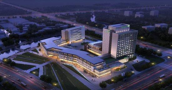 酒店大堂 - Picture of Holiday Inn Express Wuxi Taihu New City, Wuxi