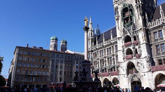 München Besuch mit Freunden