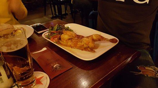 Cafe Sonneveld: half chicken
