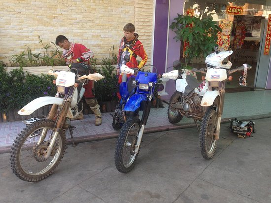 Kampot, Cambodia: ready to ride