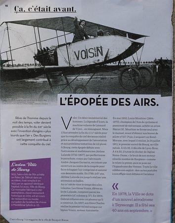 L'épopée des airs à Bourg en Bresse