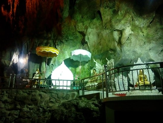 cave of Tham san Khu in Pa-O village near Ho Pone city. Shan State.
