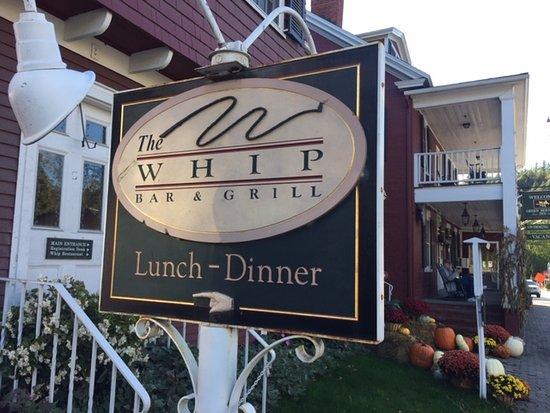 The Whip restaurant - Stowe VT
