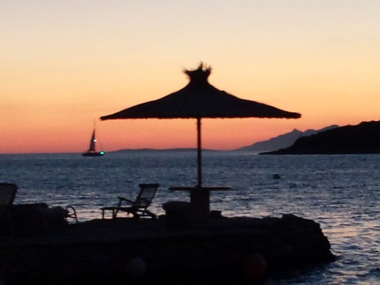 Pension Gradina: After the sunset <3 so romantic