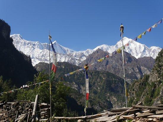 Gokyo Treks and Expedition: View from Annapurna circuit trek