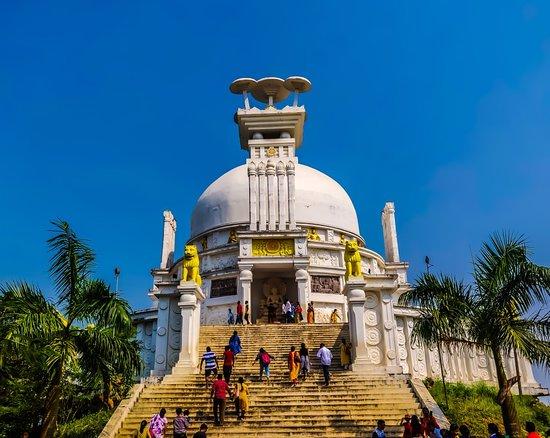 Dhauli Peace Pagoda